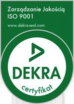dekra iso - certyfikat- produkcja wiązek elektrycznych